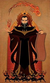 Sozin's portrait