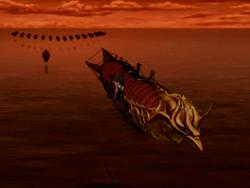 Ozai's airship