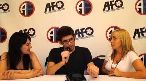 Tara Strong Grey Delisle @ AFO 2012
