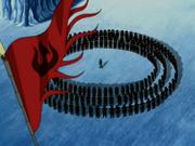 Nación del Fuego rodeando a Hama