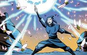 Azula salvando al Equipo Avatar