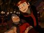 Katara y Aang bailado