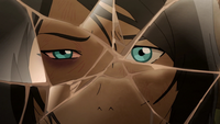 Korra's broken reflection