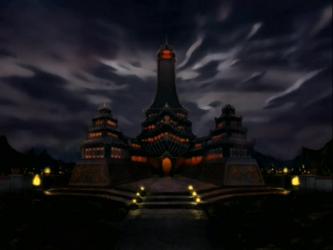 File:Fire Nation Royal Palace at night.png