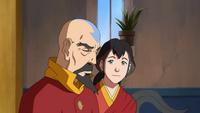 Pema comforting Tenzin