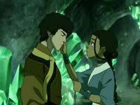 Zuko y Katara
