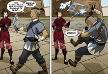 Комикс П1 Азула и Сокка