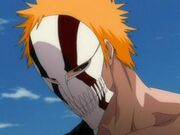 Ichigo's New Hollow Mask