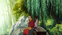 Korra tells Tenzin her plan
