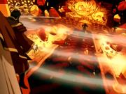 Roku destruye el Palacio Real