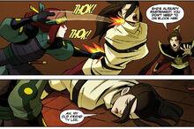 Комикс П1 Тай Ли против Азулы