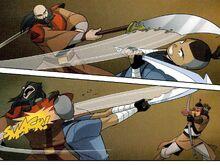 Комикс Р2 Сокка против Качи