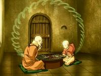 Gyatso y Aang