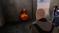 Tenzin cornered
