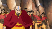 Tenzin yelling at Bumi