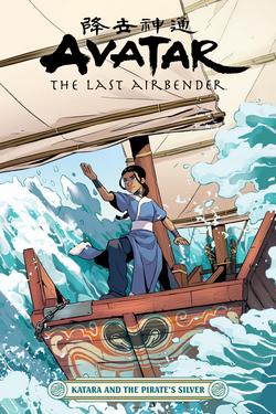 Katara y la Plata del Pirata (portada)