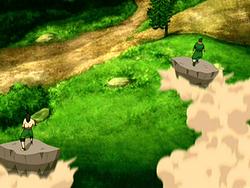 Roku's earthbending training
