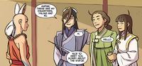 Aang meets Liling, Yaling, and Ru