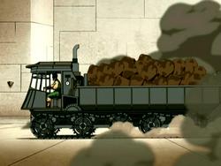 Earth Kingdom truck