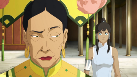 Hou-Ting and Korra make a deal