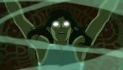 Korra gelangt in den Avatar-Zustand