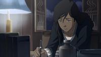 Korra le escribe a Asami