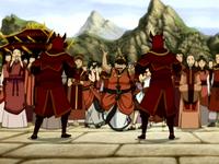 Nobles de la Nación del Fuego