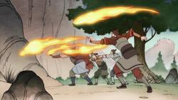 Hunters firebending
