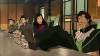 Varrick junto al Equipo Avatar en Zaofu