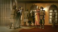 Yakone being arrested