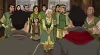 Mako und Bolin treffen ihre Familie