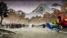 К2х08 Люди и духи вступают в бой