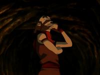 Sokka como Wang Fuego