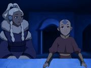 Aang y Yue