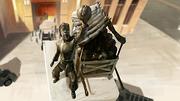 Estatua del comerciante de coles