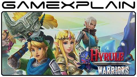 Hyrule Warriors (Japanese) - Agitha Gameplay (Wii U)