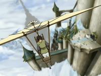 Teo's glider