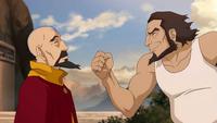 Bumi advising Tenzin