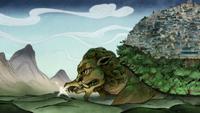 León tortuga de Fuego