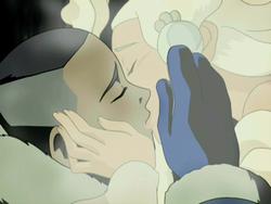 Sokka en Yue