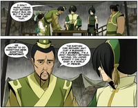 Lao asks Toph for help