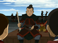 Sokka explains his plan