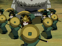 Suki and the Kyoshi Warriors