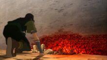 К3х10 Газан рушит стену