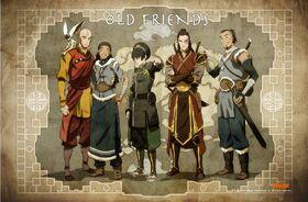 Old Friends - Team Avatar als Erwachsene