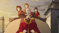 Tenzin y su familia