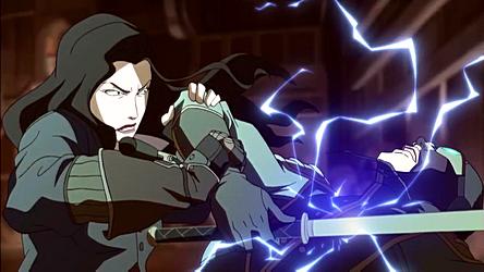 File:Asami electroshocking the Lieutenant.png