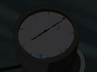 Sand-sailer compass