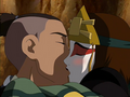 Sokka and Suki kiss.png