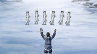 Young Tarrlok bloodbending animals